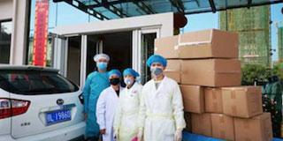支援家乡抗疫情——上海市咸宁千亿国际手机官网app国际在行动