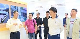 上海市咸宁千亿国际手机官网app国际考察团来通城县考察